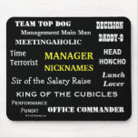 MALE MANAGER Funny Nicknames & Rude Job Titles
