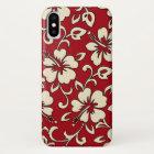Malia Hibiscus Hawaiian Floral iPhone X Case
