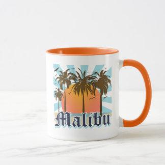 Malibu Beach California CA Mug