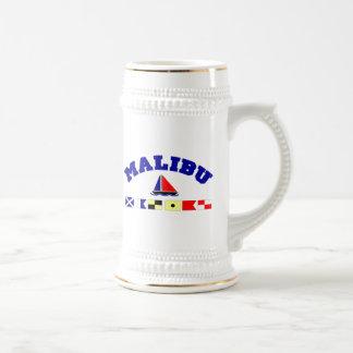 Malibu Beer Stein
