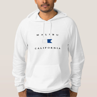Malibu California Alpha Dive Flag Hoodie