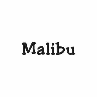 Malibu California CA Shirt - Customizable !!! Embroidered Shirts