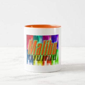 """""""Malibu"""" Colorful Palms Cup"""