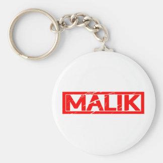 Malik Stamp Key Ring