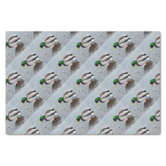 Mallard Drinking Wrapping Paper, Bags & Tags Tissue Paper