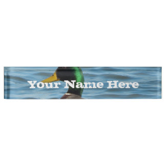 Mallard Duck Nameplate