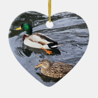 Mallards Christmas Ornament