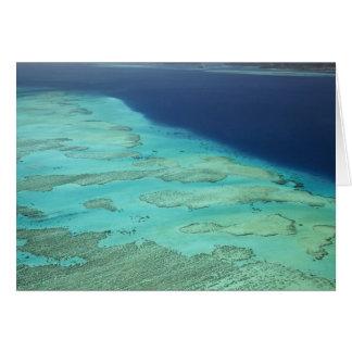 Malolo Barrier Reef off Malolo Island, Fiji 2 Card