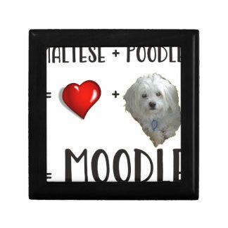 Maltese + Poodle = Moodle Gift Box