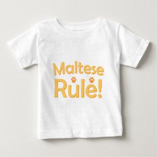 Maltese Rule! Baby T-Shirt