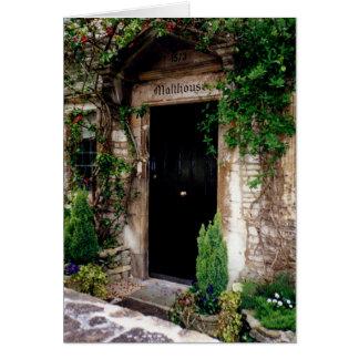 Malthouse, Castle Combe, England Card
