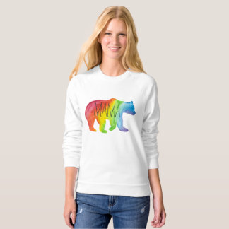Mama Bear Family Pride Watercolor Sweatshirt
