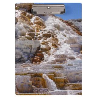 Mammoth Hot Springs Clipboard