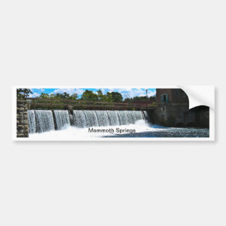 Mammoth Springs Arkansas Bumper Sticker