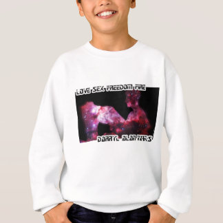 Man and Woman Space Silhouette Sweatshirt