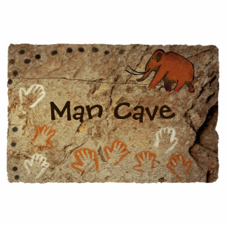 Man Cave - Ice Age Cave Art Photo Sculpture Magnet