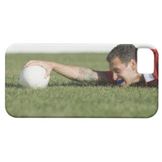 Man grabbing rugby ball iPhone 5 case