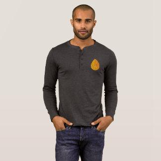 Man Henley Longsleeve w/ Gold egg T-Shirt
