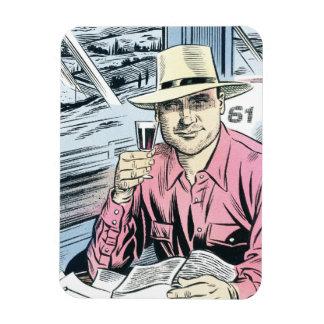 Man in Seat 61 fridge magnet... Magnet