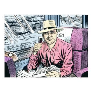 Man in Seat 61 postcards... Postcard