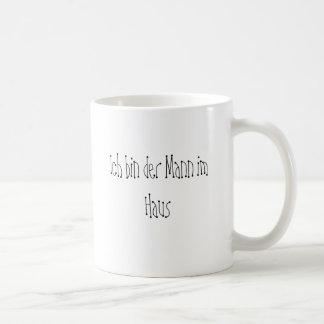 Man in the house coffee mug