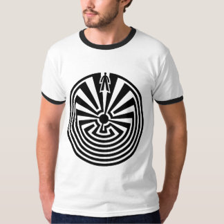 Man in the Maze, Native Americans, Itoi, Papago T-Shirt