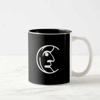 Man in the Moon Two-Tone Coffee Mug