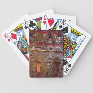 Man Mo Buddhist Temple of Hong Kong Bicycle Playing Cards