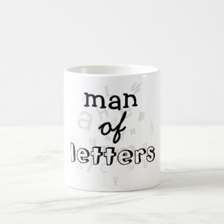 Man of Letters Mug