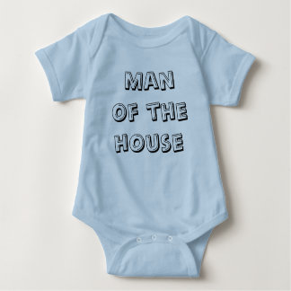 Man of the house baby bodysuit
