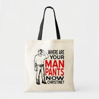 Man Pants Tote Bag