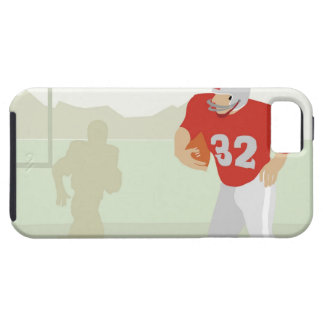 Man playing American football iPhone 5 Covers
