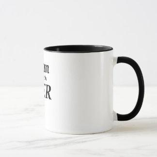Man powered by her mug