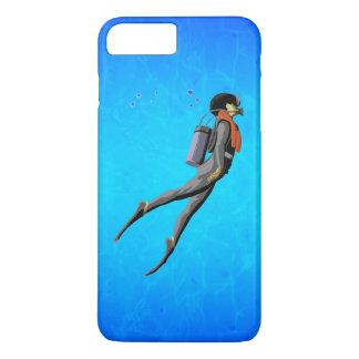 Man SCUBA Diving iPhone 8 Plus/7 Plus Case