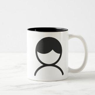 Man Two-Tone Coffee Mug