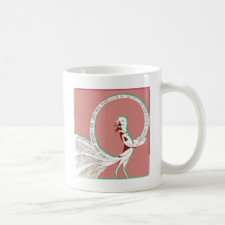 Man with feathers coffee mug