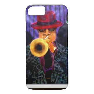 Man With The Golden Horn iPhone 8/7 Case