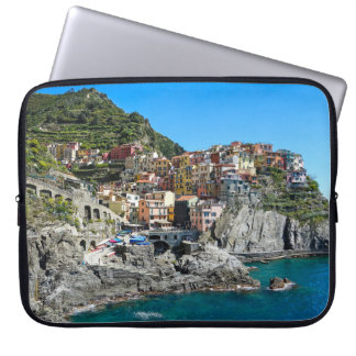 Manarola, Cinque Terre, Italy, Europe Laptop Sleeve