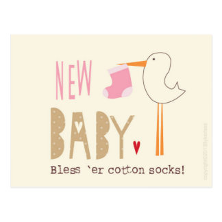 Browse the New Baby Postcards Collection and personalise by colour, design or style.