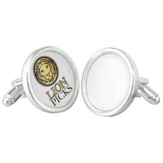 mancuernillas lionpicks cufflinks