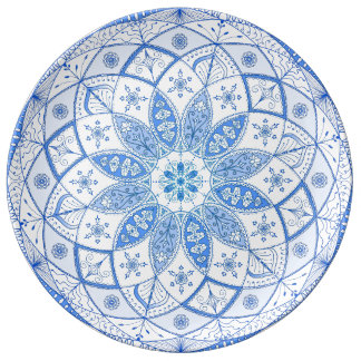 Mandala Art Patterns Designs Flower Floral Drawing Plate