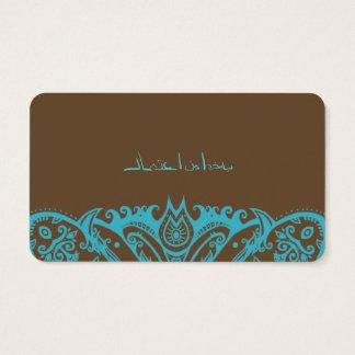 Mandala Art Photography Business Card
