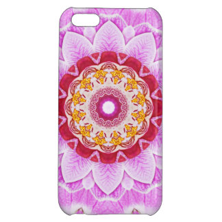 Mandala (C) from Radiant Orchid Closeup Photo iPhone 5C Cases