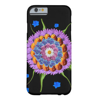 Mandala Flower Collage Barely There iPhone 6 Case
