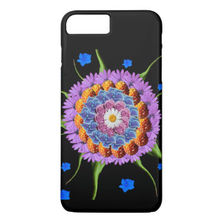 Mandala Flower Collage iPhone 8 Plus/7 Plus Case