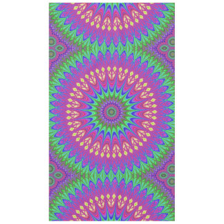 Mandala flower tablecloth