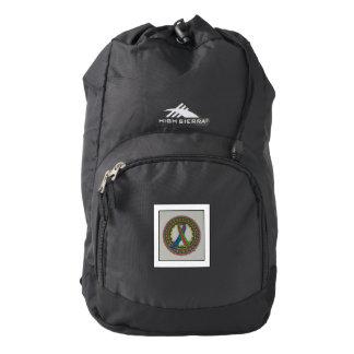 Mandala for Metastatic Breast Cancer Awareness Backpack