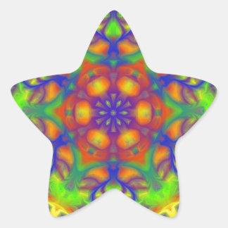 Mandala Joy Star Sticker