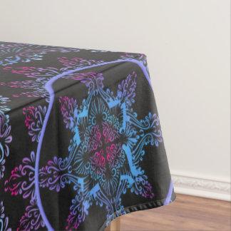 Mandala Night Flower Tablecloth