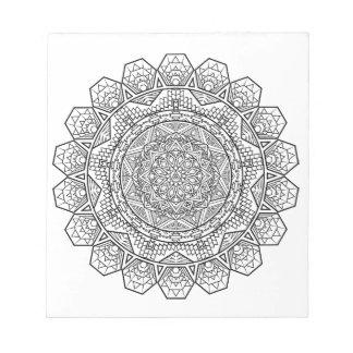Mandala Notepad